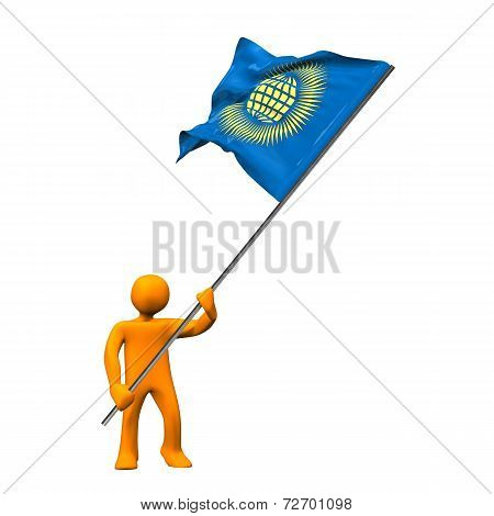Manikin Flag Commonwealth