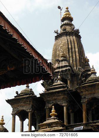 Large Stupa At The Durbar Square Of Patan