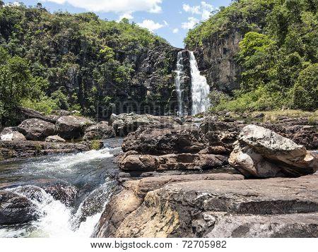View Of Caracol Waterfall - Canela City, Rio Grande Do Sul - Brazil