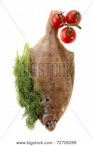 Plaice With Dill And Tomato