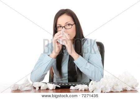 Illnes Of Working Woman