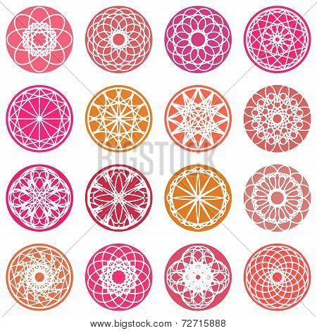 Round Ornament Set
