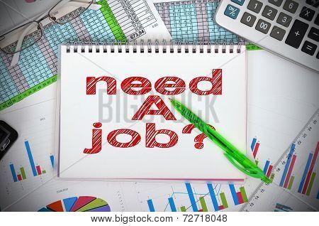 Drawing Need A Job