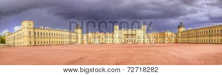 Gatchina Palace Panorama