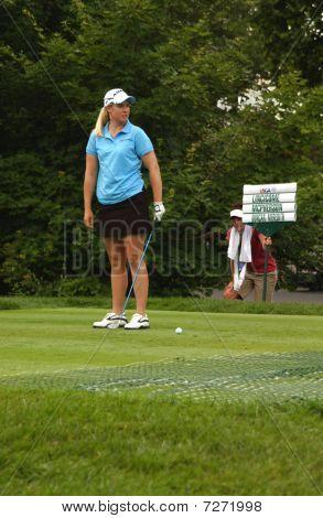 Brittany Lincicome At USGA Women's Open Golf Tournament