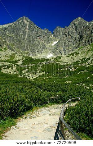 Lomnicky stit - peak in High Tatras, Slovakia