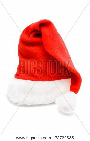 Red Santa Hat - Christmas Or New Year's Concept