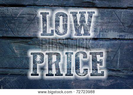 Low Price Concept