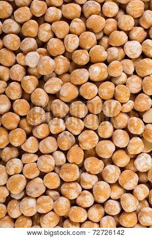 Chickpeas texture