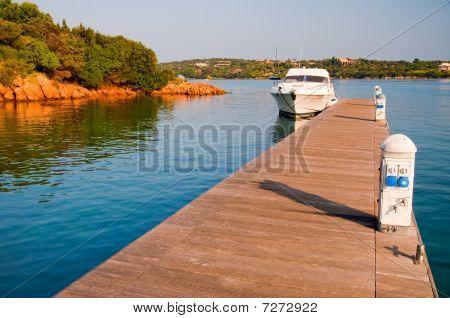 Boat At A Pier