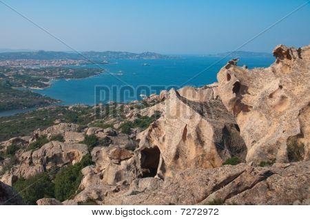 Granite Cliffs At Cape Dorso