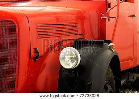 Fragment Of The Old Fire Engine
