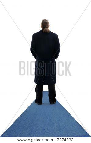 Businessman In Coat
