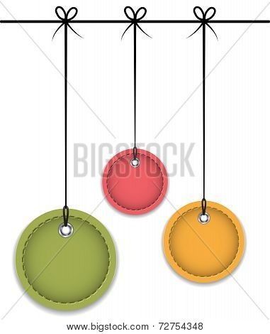 Leather Baubles