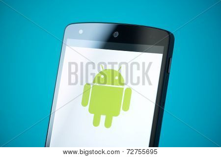 Android Logo On Google Nexus 5