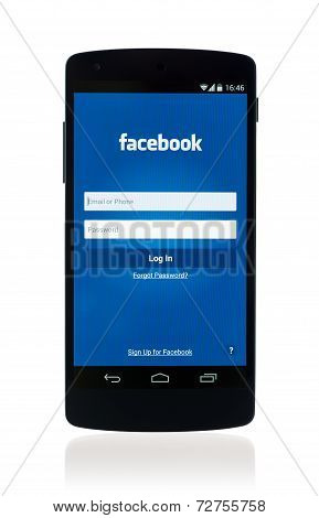 Facebook App On Google Nexus 5