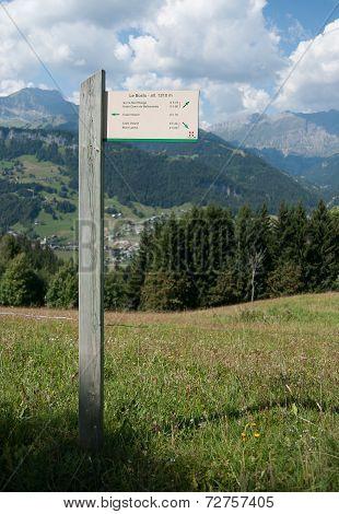 Hiking In Savoie