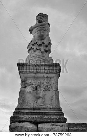 Triton Merman Statue