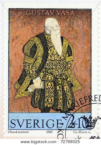 Gustav Vasa Stamp