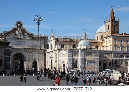 Rome - Popolo Square