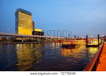 View Of Tokyo At Sumida River