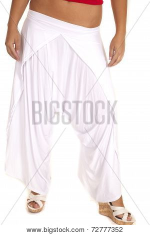 White Jam Pants