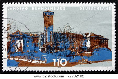 Postage Stamp Germany 1998 State Parliament Of Potsdam