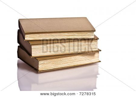 stack of books hardcover