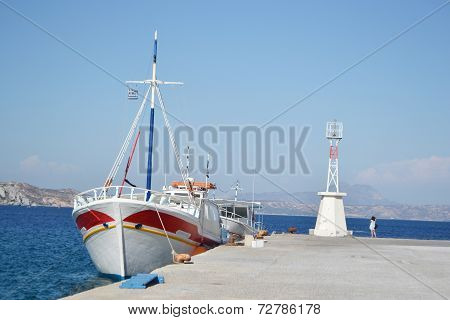 Pier And Ship