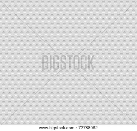 Abstract Seamless White Background With Circles, Eps10.