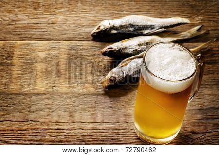Beer And Fish Vobla