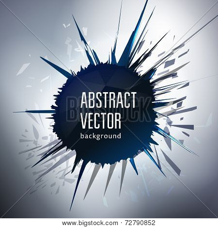 Abstract Space Background For Your Text Message