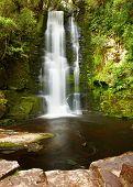 Постер, плакат: Водопад Маклин Новая Зеландия