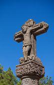 pic of parador  - Cruz de Tejeda mark of the centre of Gran Canaria - JPG