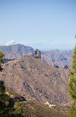 foto of parador  - Gran Canaria Caldera of Tejeda view from Cruz de Tejeda viewpoint - JPG