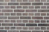 foto of flush  - Red wall of brick with special flushing - JPG