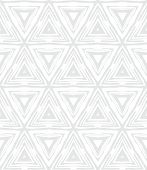 foto of bohemian  - White geometric texture in art deco style with triangles for Christmas and holiday decor or wedding invitation background - JPG