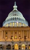 picture of house representatives  - US Capitol South Side Construction Congress House Representatives Senate Capital City Night Stars Washington DC - JPG