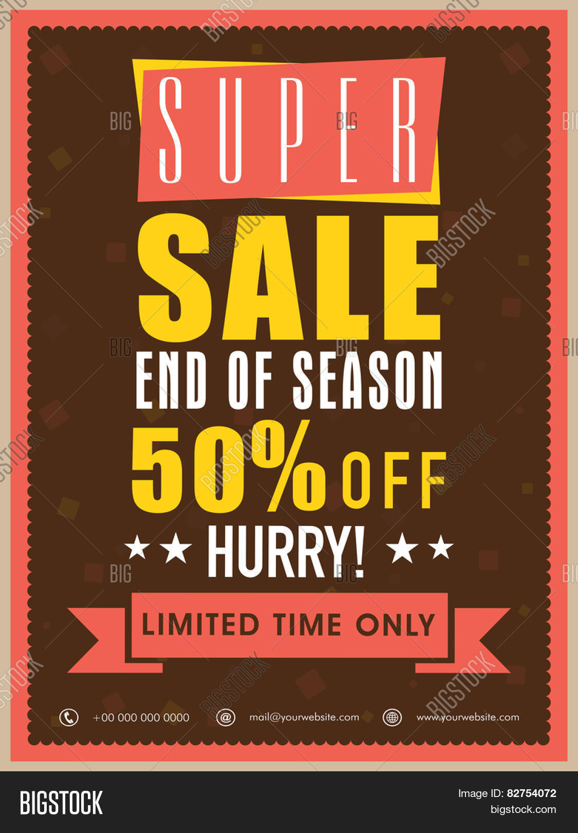 end of season super flyer banner or template discount end of season super flyer banner or template discount offer for limited time