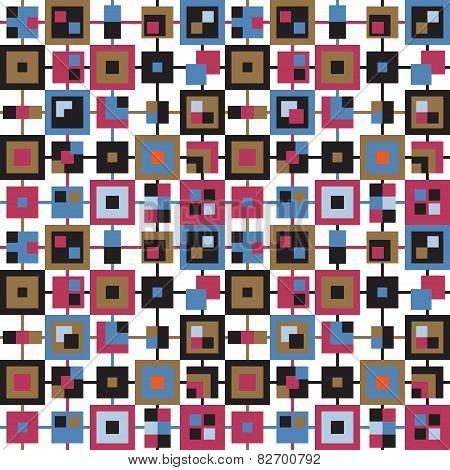 Seamless background sample check pattern