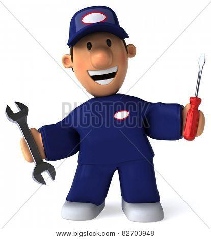 Fun worker