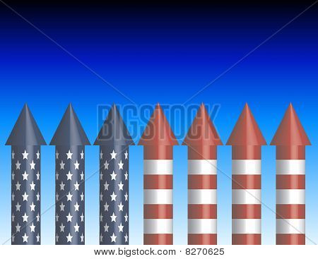 Background of Bottle Rockets