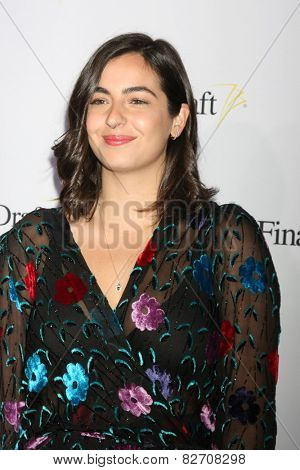 LOS ANGELES - FEB 12:  Alanna Masterson at the 10th annual Final Draft Awards at a Paramount Theater on February 12, 2015 in Los Angeles, CA