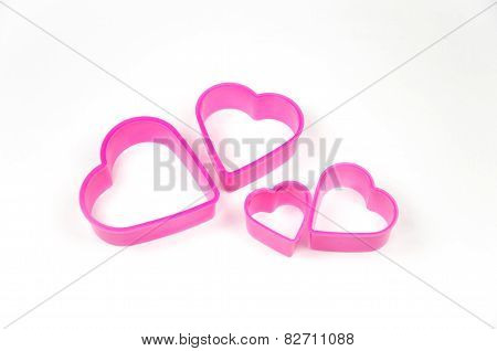 Cookie Cutter On White Background