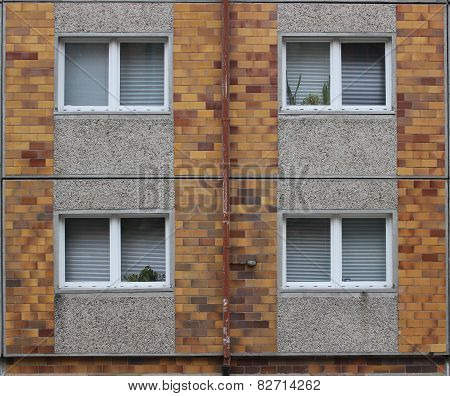 Windows In Plattenbau
