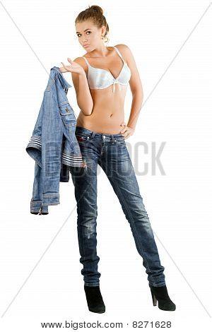 Sexy Leggy Woman