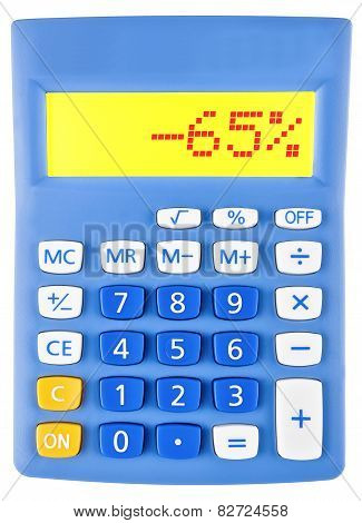 Calculator With -65