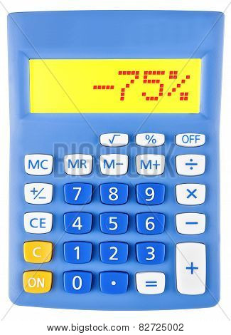 Calculator With -75