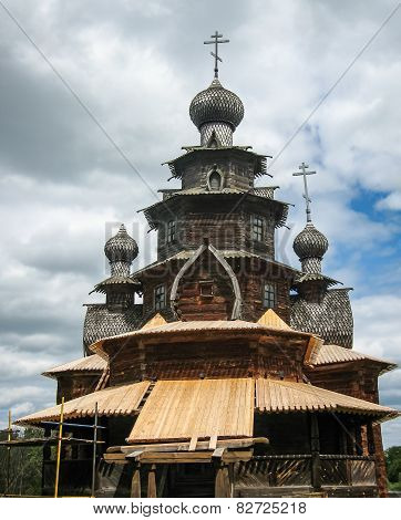 Wooden Architecture In Suzdal, Vladimir Region, Russia