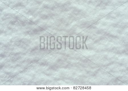 The Textured Background Of A Snow Surface
